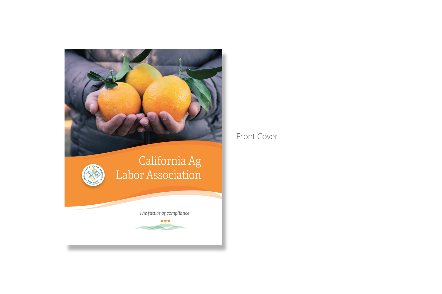 California Agricultural Labor Association Brochure - Front Cover