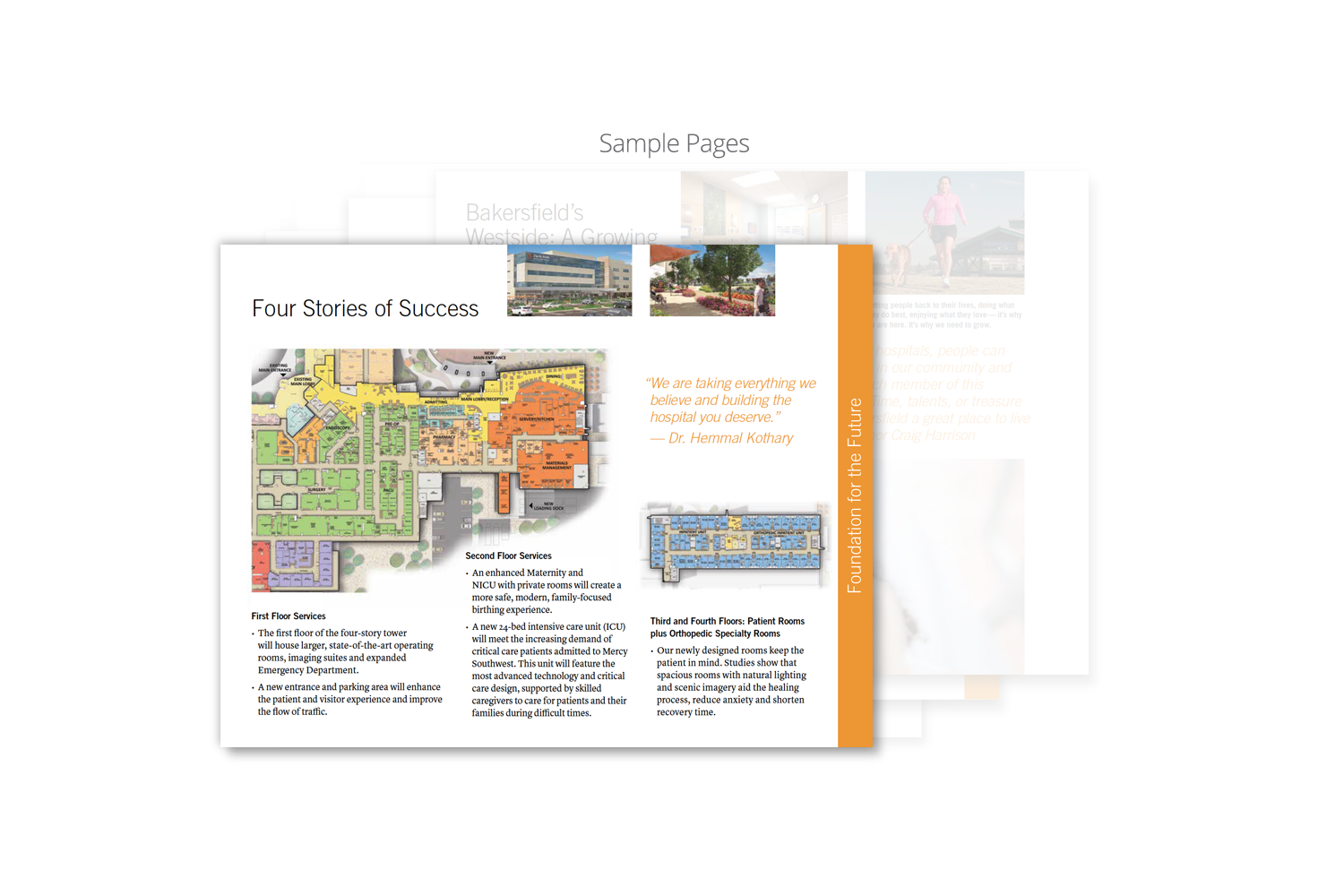 Capital Campaign Brochure for Dignity Health_sample page 6