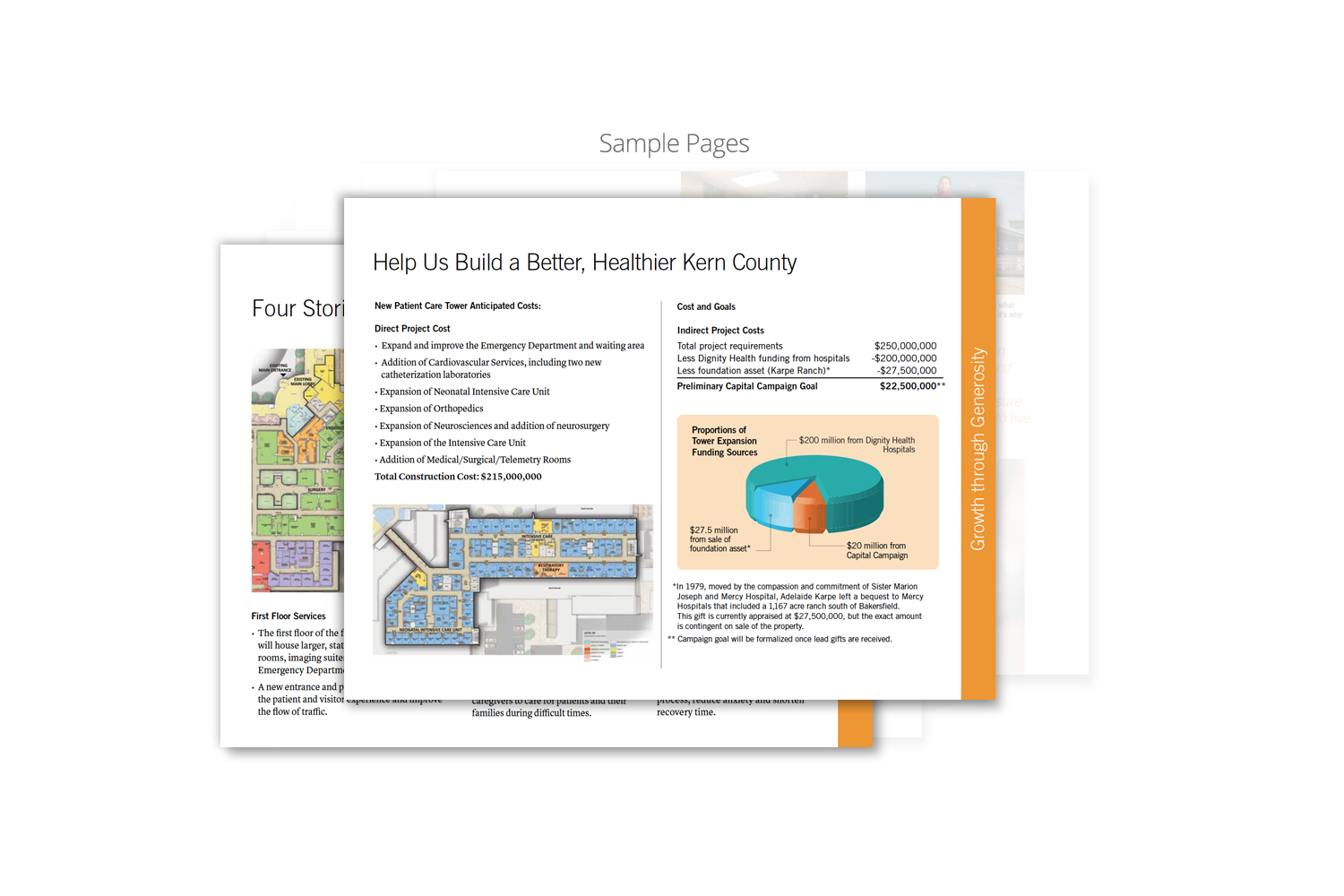 Capital Campaign Brochure for Dignity Health_sample page 7