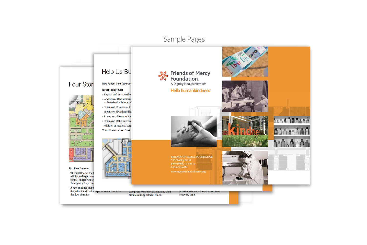 Capital Campaign Brochure for Dignity Health_back cover