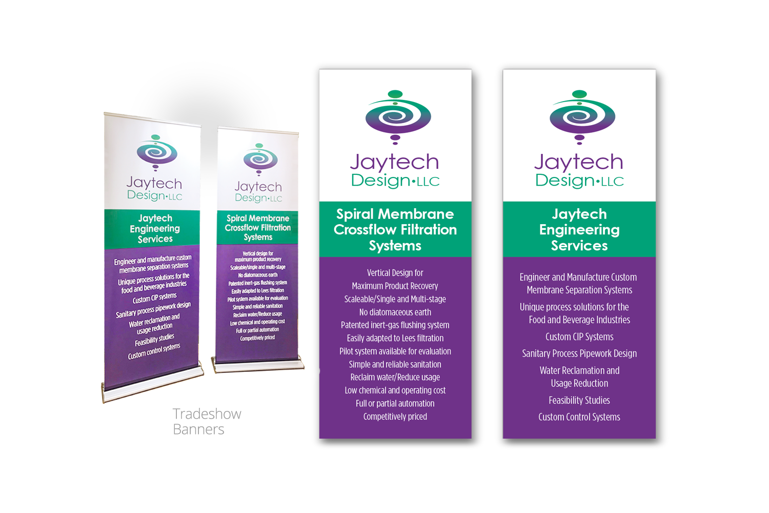Tradeshow banners for Jaytech Design by DMI Agency