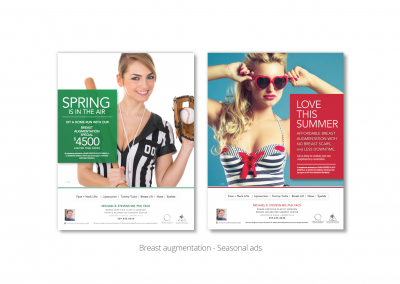 DMI creates print ads for MB Stevens, board-certified plastic surgeon 2