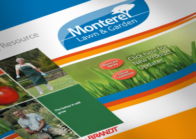 DMI Agency creates Monterey Lawn & Garden website and branding
