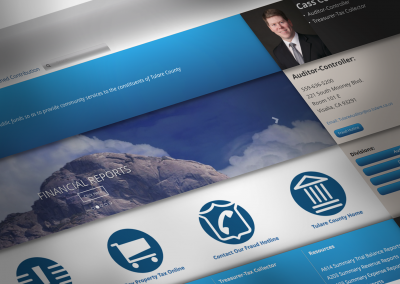DMI Agency creates branding for Tulare County Auditor-Controller website