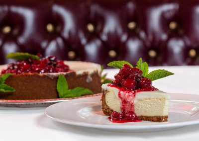 DMI Agency, Food Photography, Cherry Cheesecake, epicure