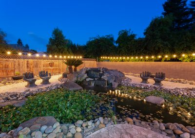 DMI Residential Photography_Backyard, Water Feature