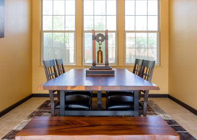 Home Tour Photography, Dining Room, Craftsman Home, Visalia