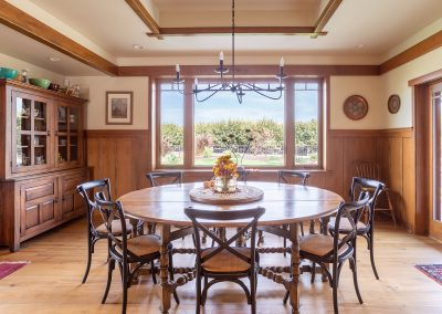 Home Tour Photography, Breakfast Nook, Craftsman Home, Visalia